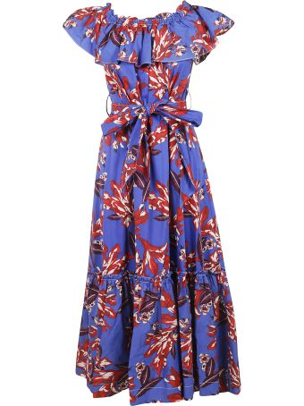 Parosh Printed All-over Dress