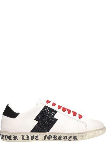 AMIRI White Leather Sneakers