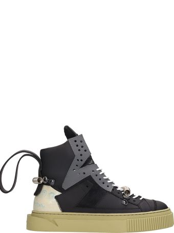 Gienchi Hypnos 1000 Black Grey Leather And Suede