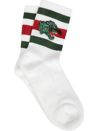 Gucci Patch Socks