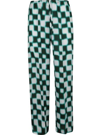 Dries Van Noten Checked Trousers
