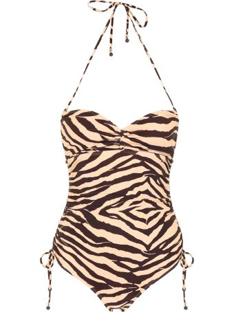 Zimmermann Ruched Swimsuit
