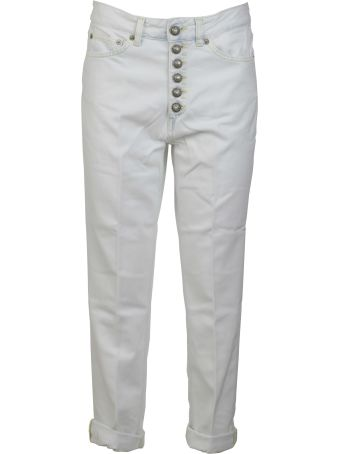 Dondup Pleated Cropped Jeans