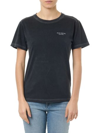 Acne Studios Wanda Black Cotton T-shirt