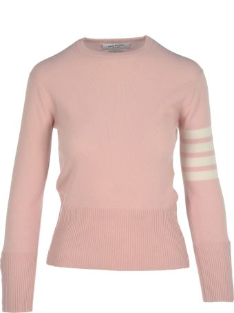 Thom Browne Stripe Details Sweater