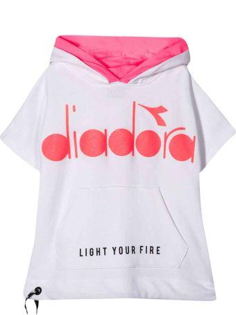 Diadora White Sweatshirt