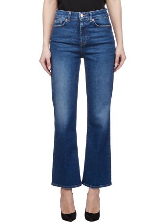 7 For All Mankind High Waist Flared Jeans