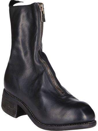 Guidi Black Horse Leather Boots