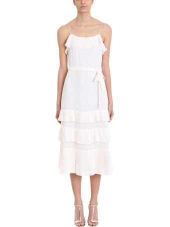 Zimmermann Plisse Slip Dress
