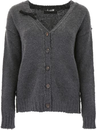 Miu Miu Cardigan With Bow