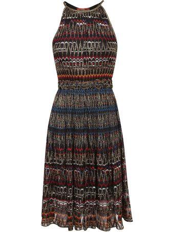 Missoni Halter Fitted Knit Dress