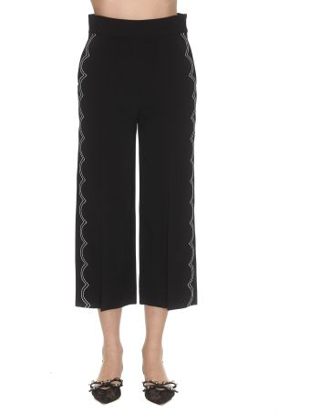 RED Valentino Embroidered Pants