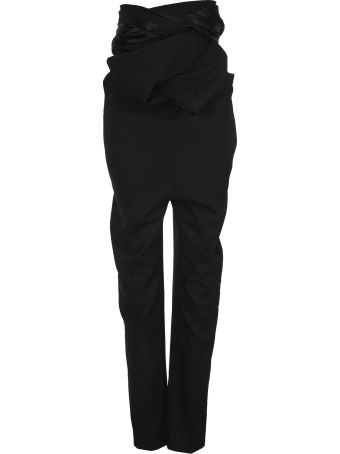 Y/Project High-waisted Draped Trousers