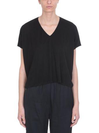 Acne Studios Black Viscose Kileo T-shirt