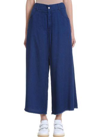 Acne Studios Pili Tencel Culottes Trousers