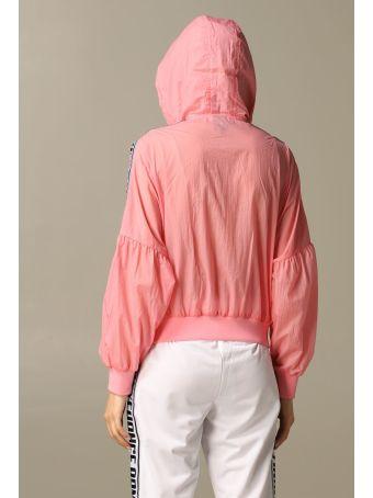 Armani Collezioni Armani Exchange Jacket Armani Exchange Bomber Jacket With Hood And Logoed Bands