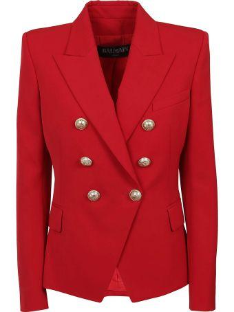 Balmain 6 Btn Wool Jacket