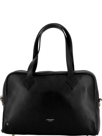 Avenue 67 Black Leather Handbag