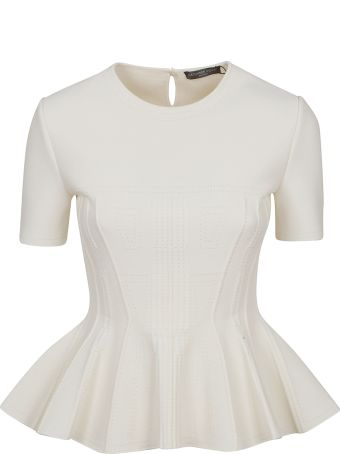 Alexander McQueen Pleated Blouse