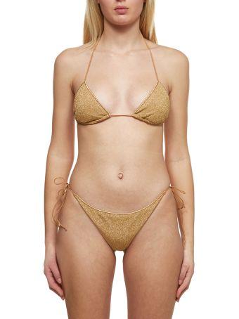 Oseree Metallic Lurex Bikini