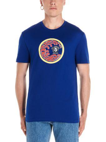 Versace 'medusa Wave' T-shirt