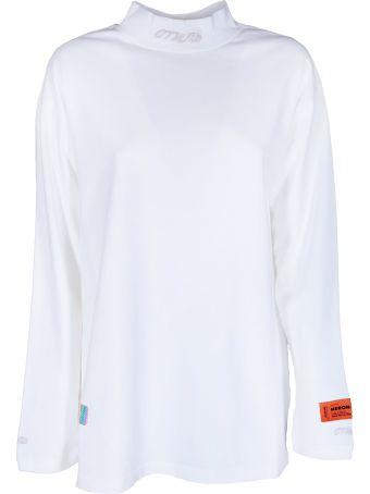 HERON PRESTON Mock Sweatshirt