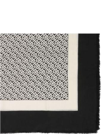 Burberry Monogram Pattern Scarf
