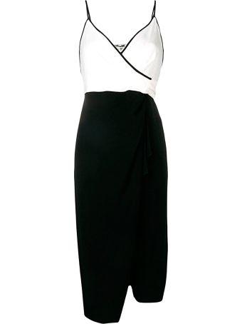 Diane Von Furstenberg Avila Bi-colour Wrap Dress