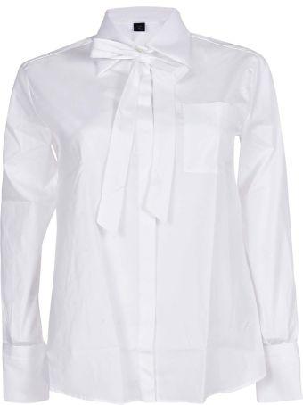 Fay Bow Detailed Shirt