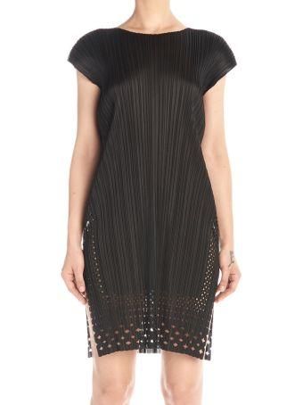 Pleats Please Issey Miyake 'dots Lace' Dress