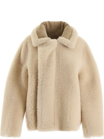 Bottega Veneta Reversible Shearling Jacket