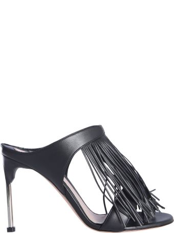 Alexander McQueen Mandle Sandals With Fringes