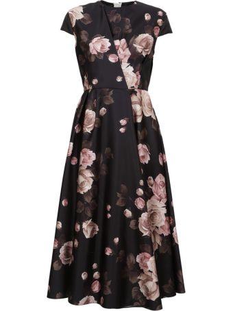 Rochas Floral Dress