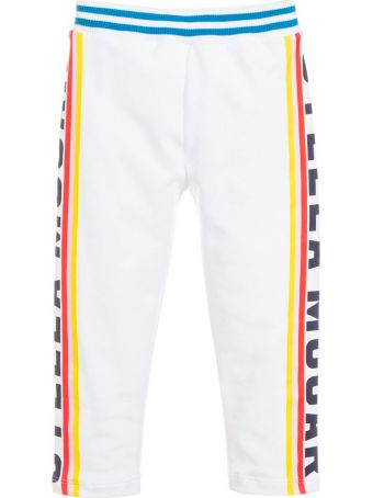 Stella McCartney Kids White Pants Girl