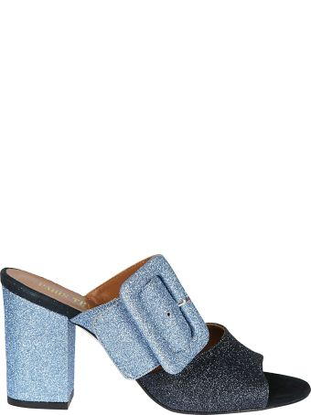 Paris Texas Glittered Mules