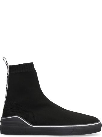 Givenchy George V Knit High-top Sneakers