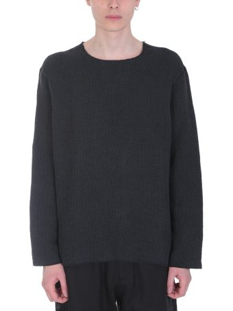 Our Legacy Black Cotton Blend Sweater