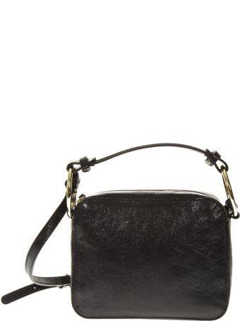 Gianni Chiarini Black Leather Mini Bag Dalia