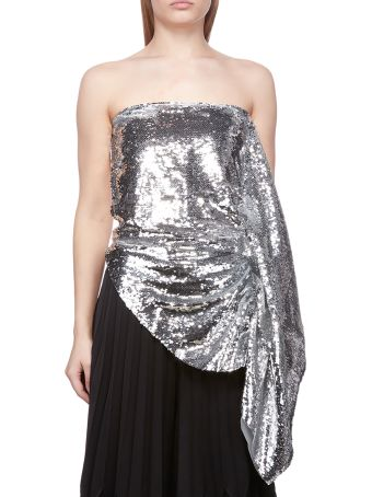 Paula Knorr Sequined Top