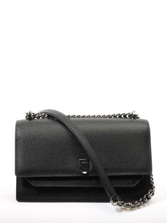 Valextra Black Spritz Bag Medium