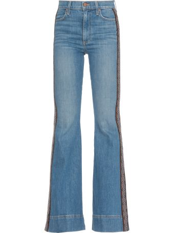 Alice + Olivia Cotton Jeans