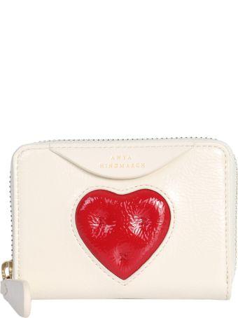 Anya Hindmarch Chubby Heart Small Zip Wallet