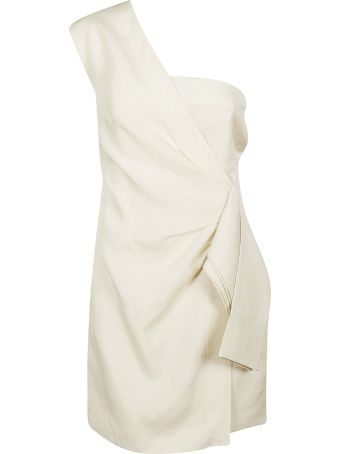 Victoria Beckham One-shoulder Draped Dress