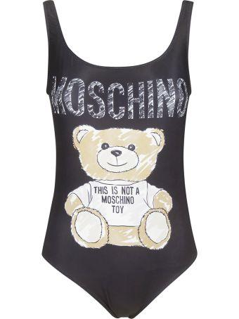 Moschino Sketch Bear Swimsuit