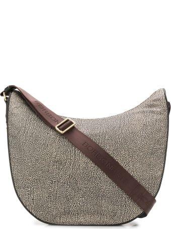 Borbonese Medium Luna Shoulder Bag