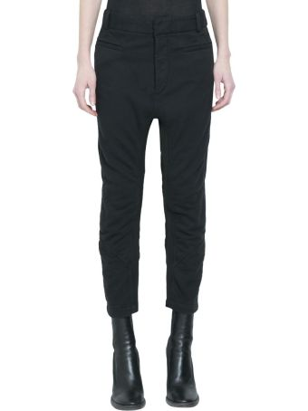 Haider Ackermann Perth Black Panelled Joggers
