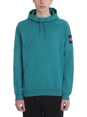 The North Face Green Cotton Hoodie