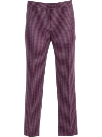 PS by Paul Smith Vichy Checked Trousers