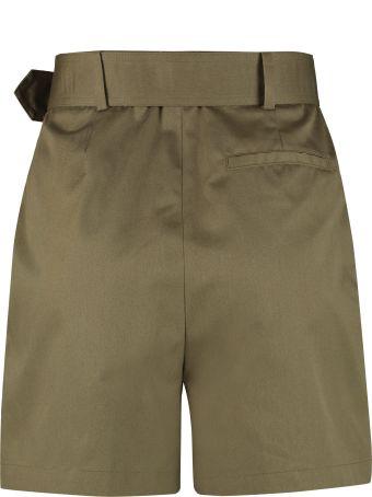 Department 5 Bloom Belted Gabardine Shorts