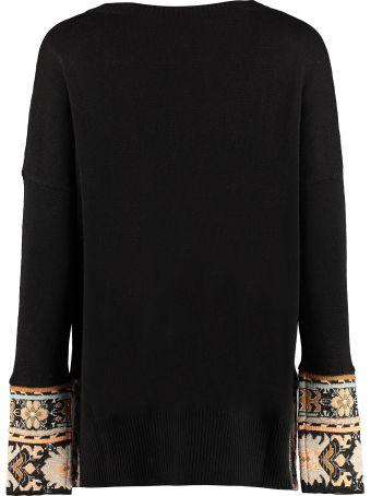 Etro Wool-blend Crew-neck Sweater